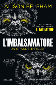 L'imbalsamatore Libro Cover