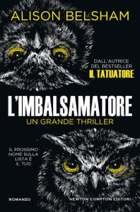 L'imbalsamatore Libro Cover