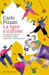La tigre e il drone Copertina del libro