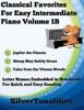 Classical Favorites For Easy Intermediate Piano Volume 1 B