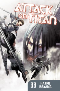 Attack on Titan volume 33 Book Cover