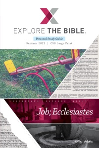 Explore the Bible: Adult Personal Study Guide - CSB - Summer 2021 Book Cover