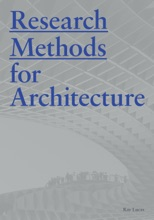 Research Methods For Architecture