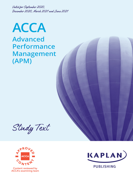 ACCA - Advanced Performance Management (APM)