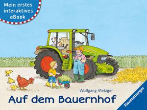 Mein erstes interaktives eBook: Auf dem Bauernhof Buch-Cover