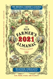 The Old Farmer's Almanac 2021 Book Cover