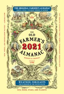 The Old Farmer's Almanac 2021 Book Cover