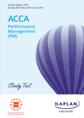 ACCA - Performance Management (PM)