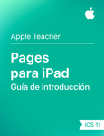 Guía de introducción de Pages para iPad iOS 11