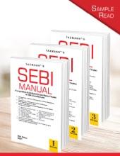 Taxmann's SEBI Manual (Set Of 3 Volumes)