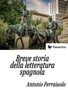 Breve storia della letteratura spagnola Copertina del libro