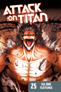Attack on Titan Volume 25 Book Cover