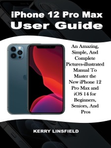 iPhone 12 Pro Max  User Guide Book Cover