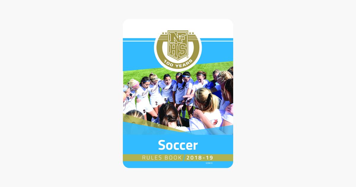 Rule book soccer nfhs