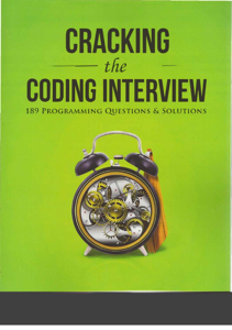 Cracking the Coding Interview: 189 Programming Questions and Solutions Book Cover