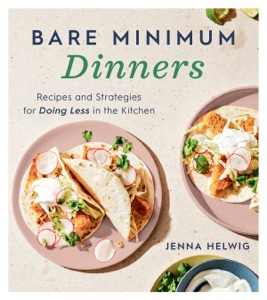 Bare Minimum Dinners Book Cover
