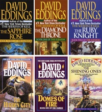 Sparhawk Universe Series Complete David Eddings: The Diamond Throne, The Ruby Knight, Domes Of Fire, The Sapphire Rose, Shining Ones, Hidden City.