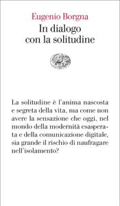 In dialogo con la solitudine Copertina del libro