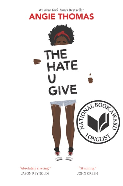 The Hate U Give - Angie Thomas book cover