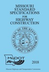 2018 Missouri Standard Specifications For Highway Construction