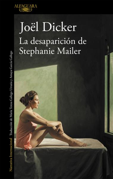 La desaparición de Stephanie Mailer por Joël Dicker
