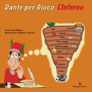Dante per Gioco - L'Inferno Copertina del libro