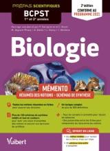Mémento De Biologie BCPST 1re Et 2e Années