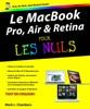 Le MacBook Pro, Air et Retina pour les nuls
