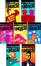 Livro Fundação Volumes 1 Ao 7 - Isaac Asimov:  Fundação, Prelúdio à Fundação, Origens da Fundação, Fundação e Império, Segunda Fundação, Limites da Fundação, Fundação e Terra.