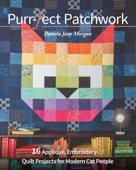 Purr-fect Patchwork Book Cover