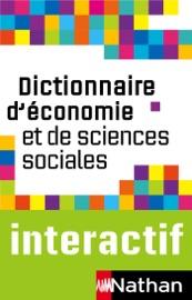 Dictionnaire d'Economie et de Sciences Sociales - Claude-Danièle Echaudemaison