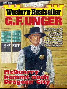 G. F. Unger Western-Bestseller 2515 - Western Buch-Cover