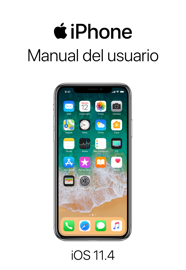 Manual del usuario del iPhone para iOS 11.4