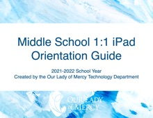 Our Lady Of Mercy IPad Orientation Guide