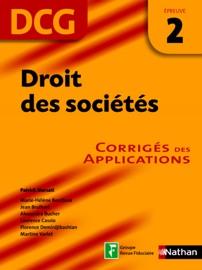 Droit Des Soci T S Preuve 2 Dcg Corrig S