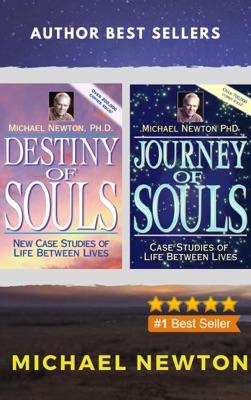 Michael Newton Collection 2 Books set: Journey of Souls, Destiny of Souls.
