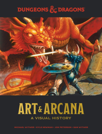 Dungeons and Dragons Art and Arcana book