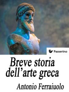 Breve storia dell'arte greca Copertina del libro