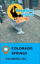 Vacation Goose Travel Guide Colorado Springs Colorado, USA