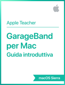 GarageBand per Mac Guida introduttiva macOS Sierra