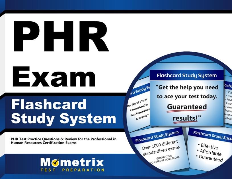 Phr Exam Flashcard Study System By Phr Exam Secrets Test Prep Team