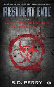 La Conspiration d'Umbrella La couverture du livre martien