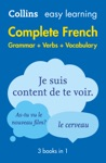Easy Learning French Complete Grammar Verbs And Vocabulary 3 Books In 1