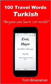 100 Travel Words - Turkish