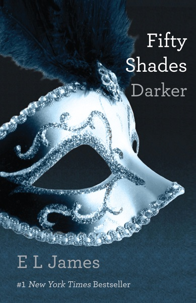 Fifty Shades Darker - E L James book cover