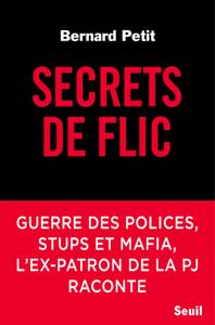 Secrets de flic La couverture du livre martien