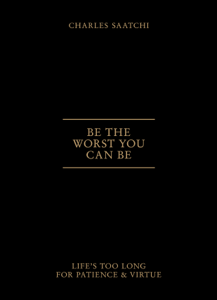 Be the Worst You Can Be Libro Cover
