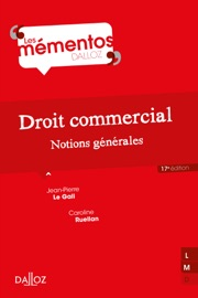 Droit Commercial Notions G N Rales