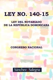 Ley Dominicana No 140 2015