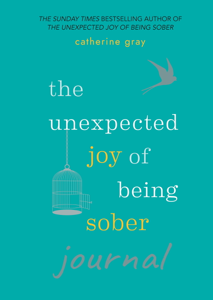 The Unexpected Joy of Being Sober Journal La couverture du livre martien